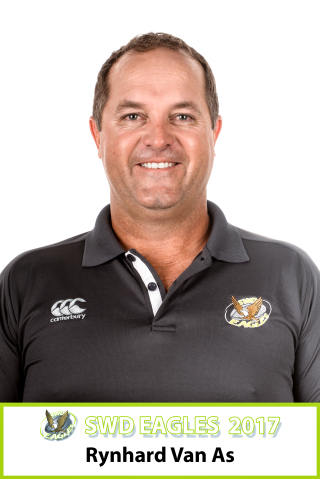 Rynhard van As - Head Coach